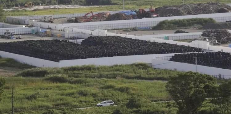 Fukushima Japon décontamination catastrophe nucléaire tsunami casatrophe déchets radiation radioactivité