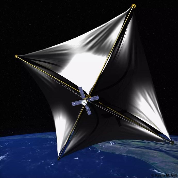 BreakThrough StarShot sonde vaisseau nano vaisseau micro sonde étoile voiles solaires