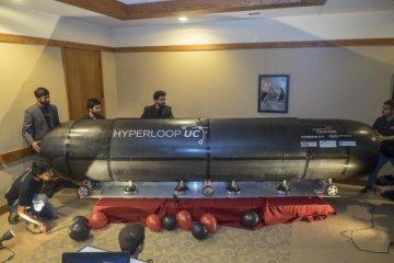 hyperloop université cincinnati lévitation magnétique