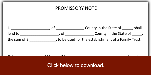 promissory note forms - Minimfagency