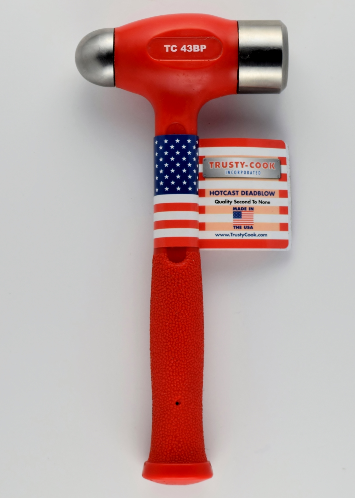 Ball Peen Hammer 43 Oz Ball Peen Dead Blow Model Tc43bp