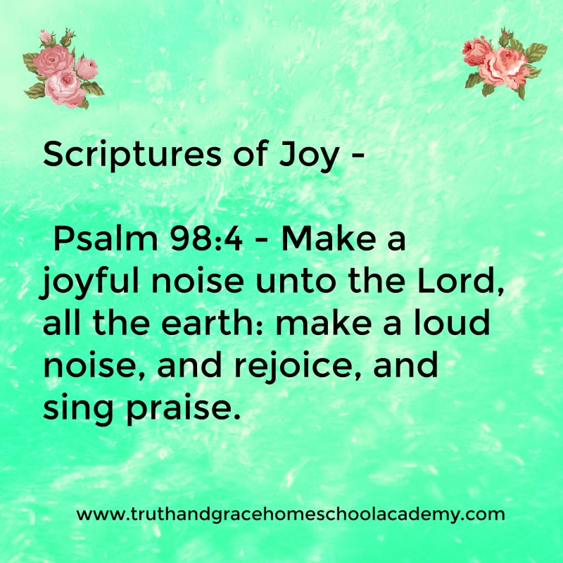 Large Of Scriptures On Joy