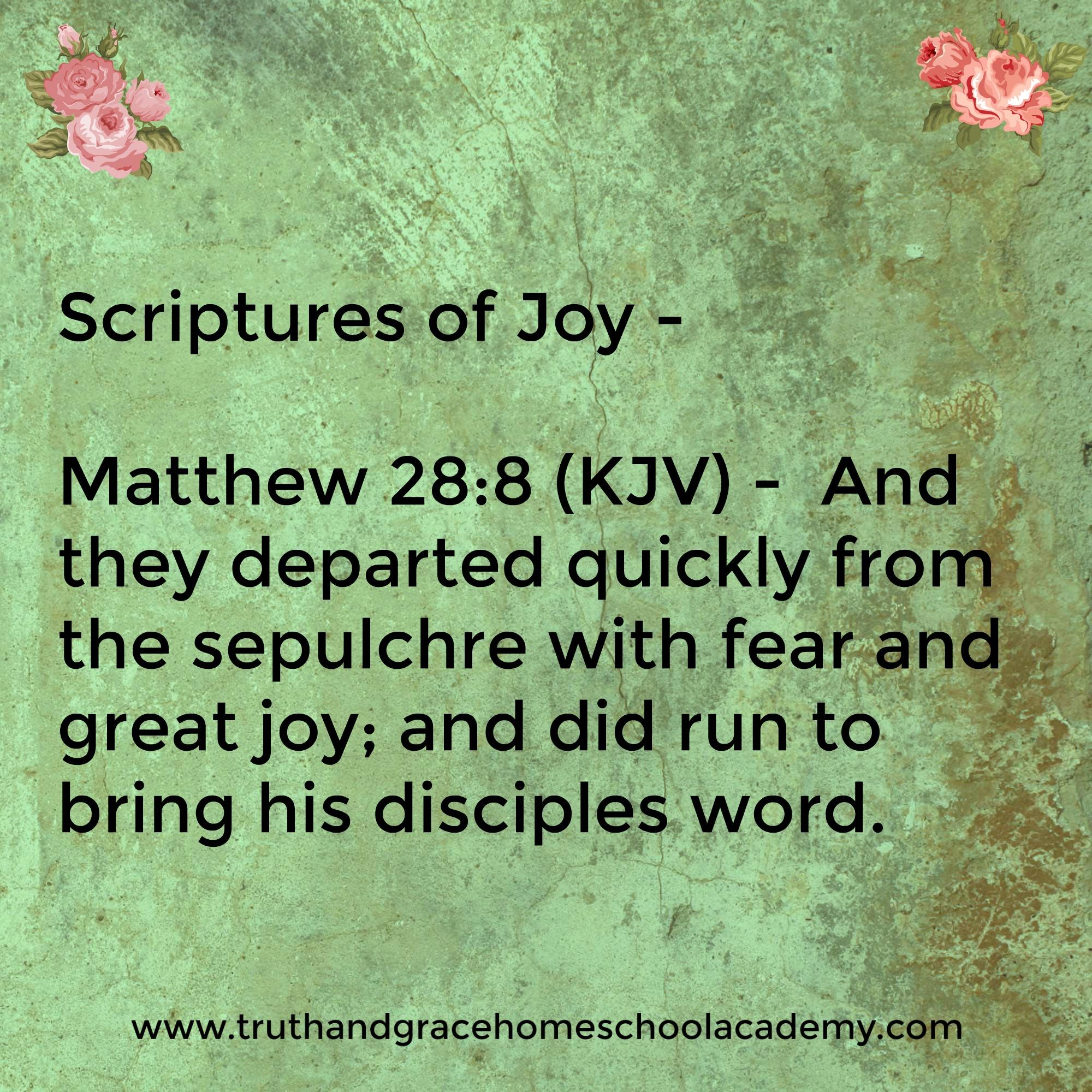 Fullsize Of Scriptures On Joy