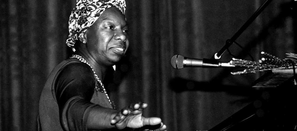 Nina Simone at a concert in Bretagne, France, in 1982. (Photo: Roland Godefroy/Creative Commons)