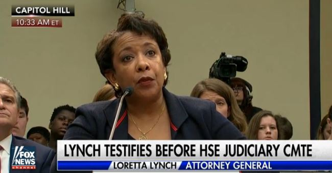 Lynch Repeatedly Dodges And Deflects Questions On FBI's Probe Of Clinton Email Use (Video)