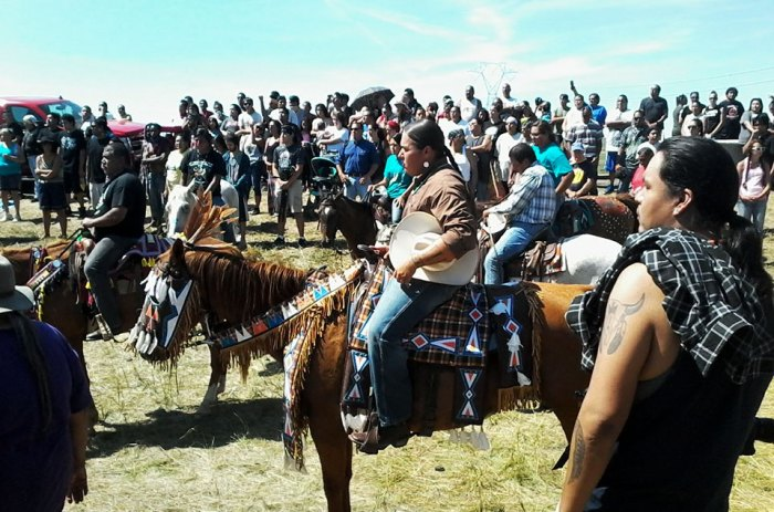 The Largest Native American Protest In HISTORY Is Happening Right Now (Video)