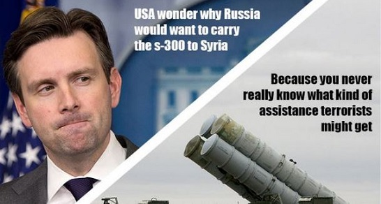 Russia Posts Provocative Tweet Warning US On Syria, Mocking Earnest (Video)