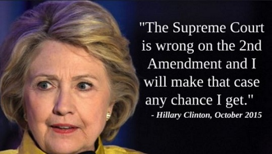 Hillary Clinton To Challenge SCOTUS: The Supreme Court 'Is WRONG On The Second Amendment' (Audio)