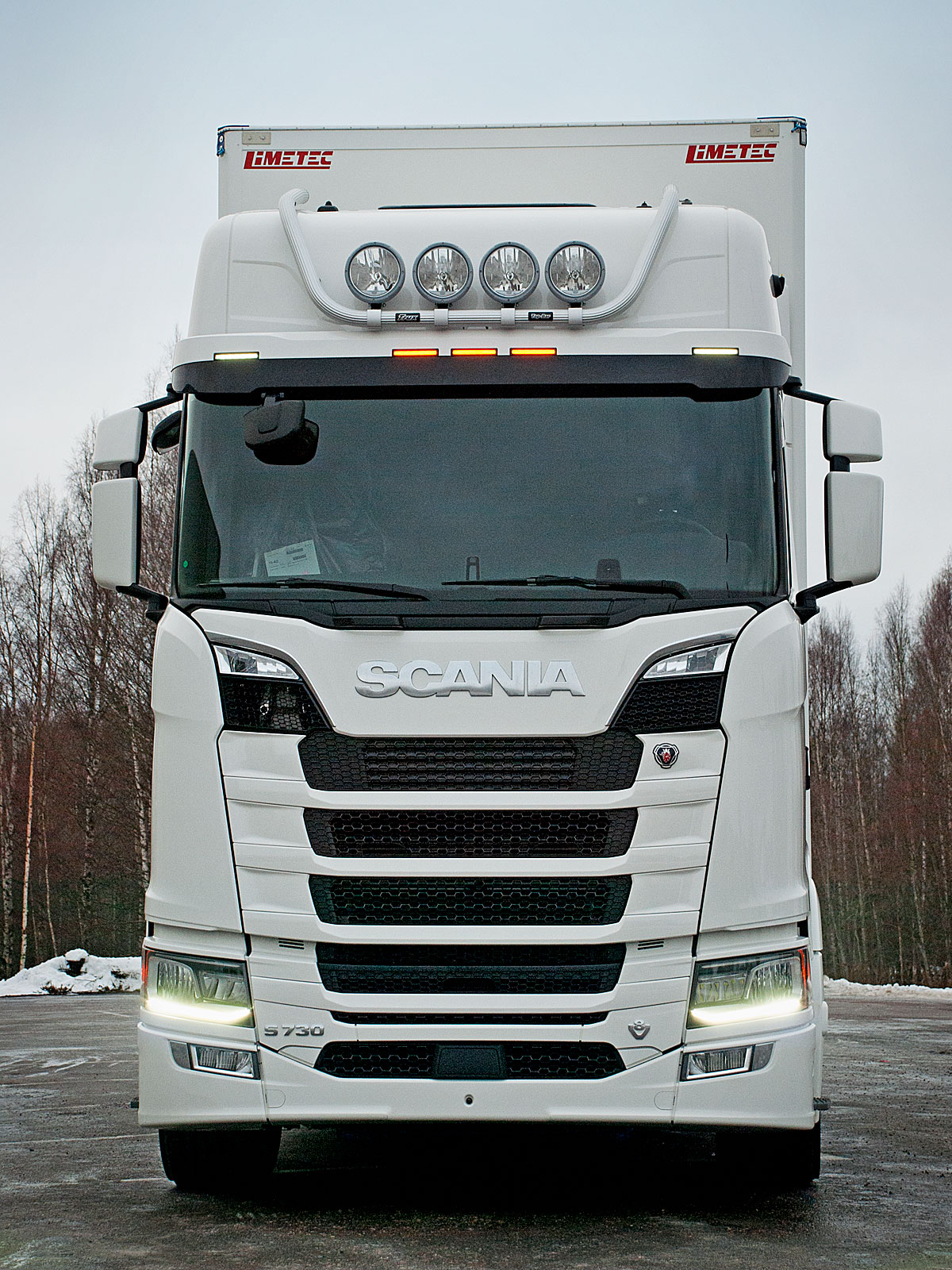 Next Bar One More Trux Top Bar For The New Scania Trux