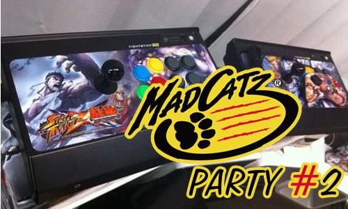 TNP macatz party2 EVENEMENT   MadCatz Party 2 : 100% Gamer