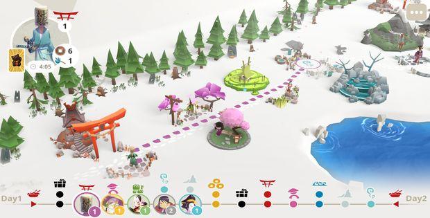 Tokaido passe du plateau au jeu vidéo