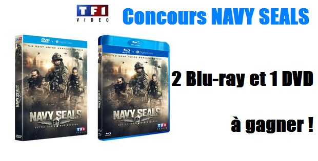 CONCOURS Navy Seals - 2 Blu-ray et 1 DVD à gagner !