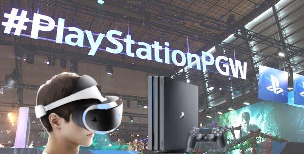 Paris Games Week 2016 - Playstation expose sa PS4 Pro et sa vision du VR