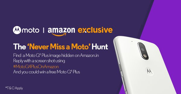 Moto G4 Plus Smartphone Amazon Exclusive