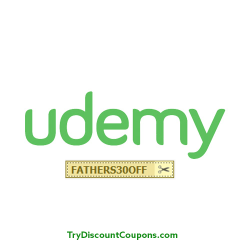 Udemy June 2016 Coupon Fathers day 30% Off Coupon Code