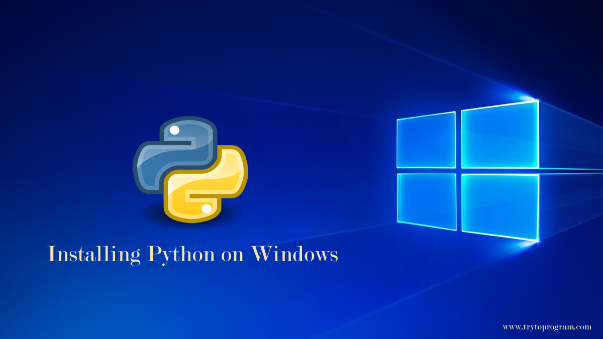 Programming Tutorial Learn Python Easy Python Programming Tutorial Trytoprogram