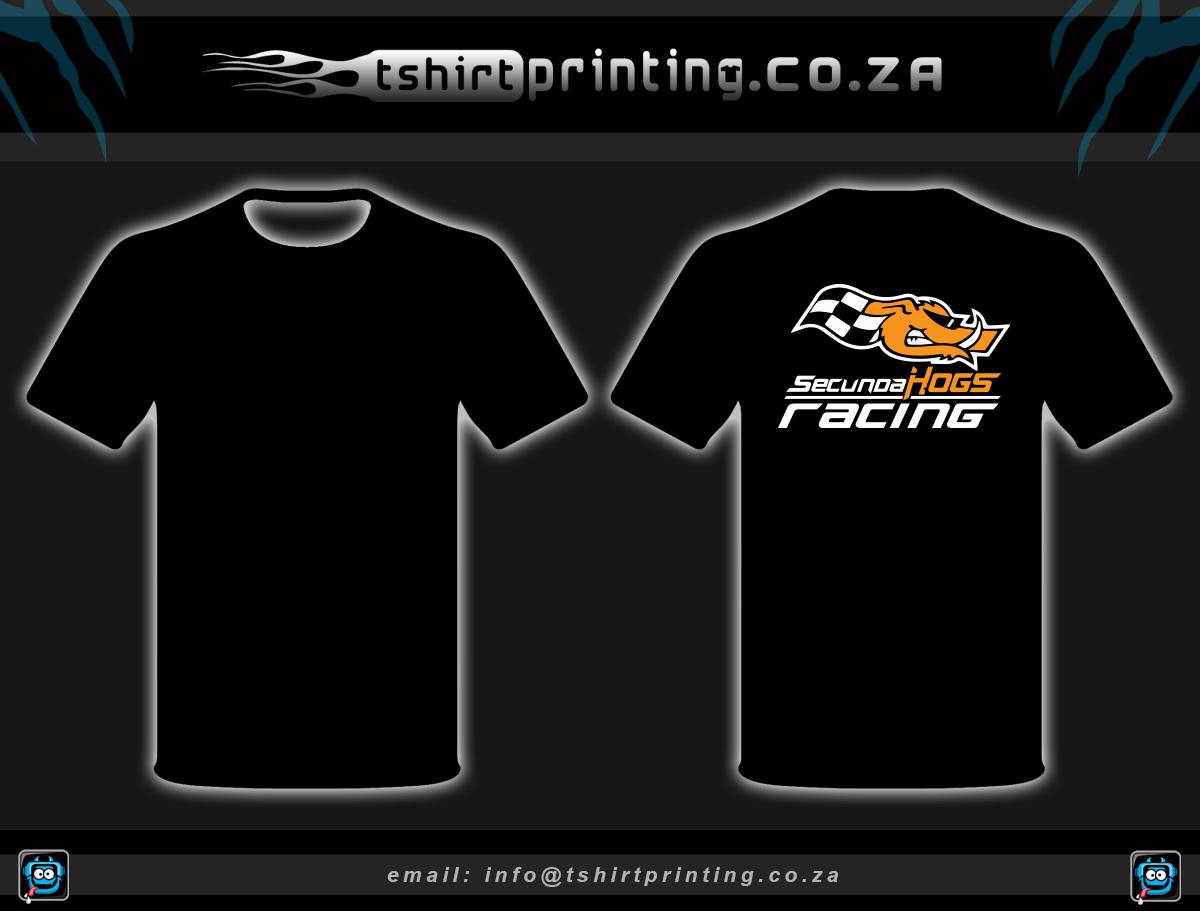 Biker racing team shirts
