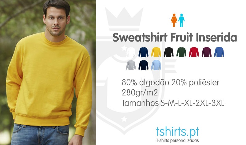 Sweatshirts fruit manga inserida