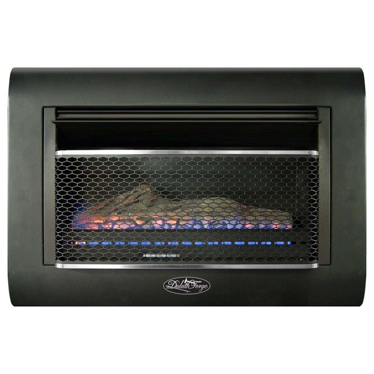 Btu Gas Fireplace Duluth Forge Ventless Linear Wall Gas Fireplace 26 000 Btu T Stat Model Df300l