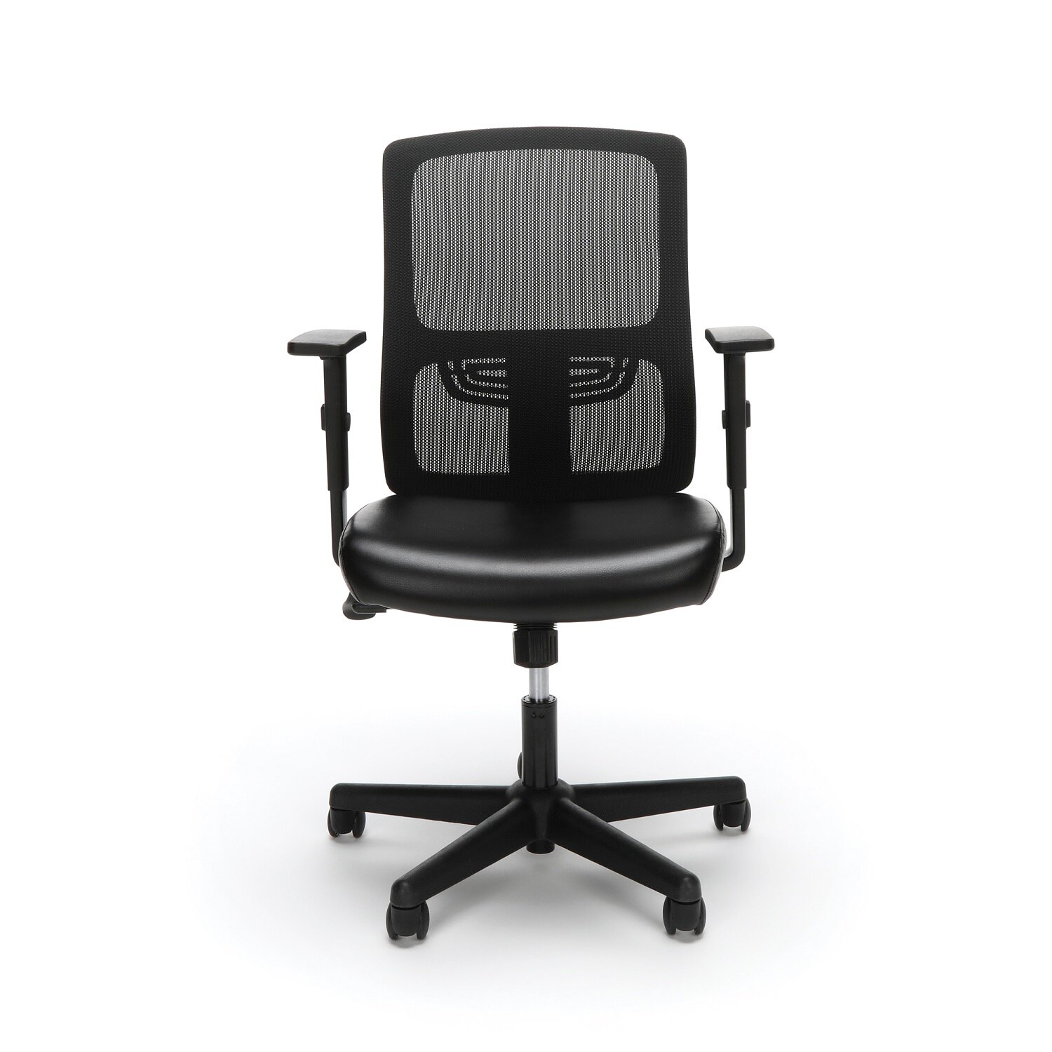Task Chair Without Wheels Office Essentials Essentials By Ofm Ess 3048 Ergonomic