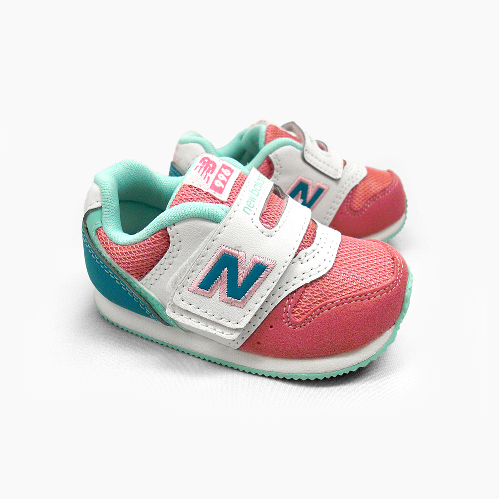 Infant Sneakers New Balance New Balance 996 Kids Sneakers Infant Fs996 Pink Turquoise Fs996pti Newbalance New Balance 996 Kids Sneakers Fs996