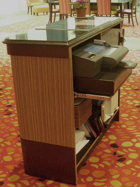TSN Manufacturing - Custom Commercial Counters, Kiosks, Cabinets