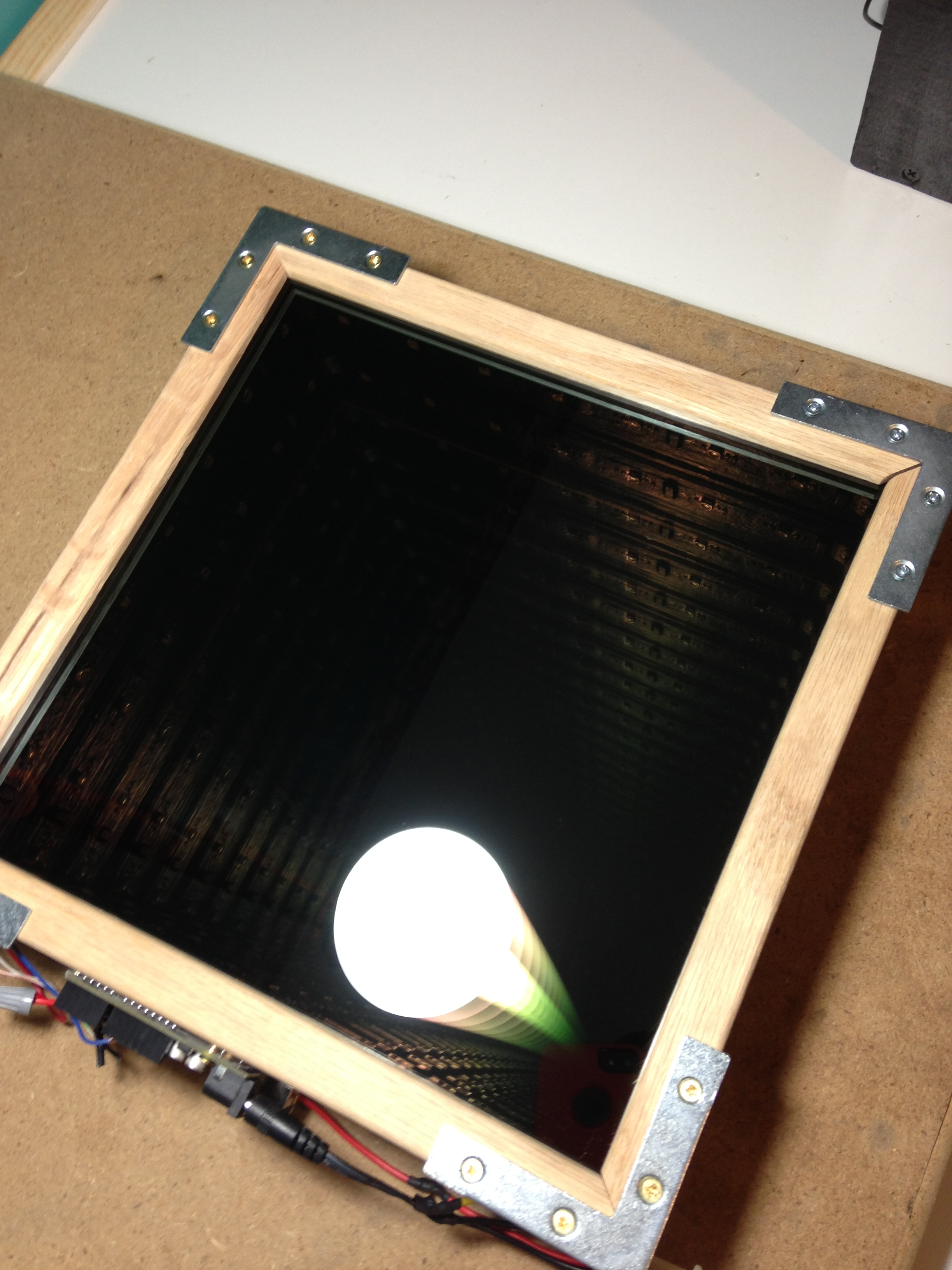 Diy Led Mirror Frame Infinity Mirror Tsouth Projects