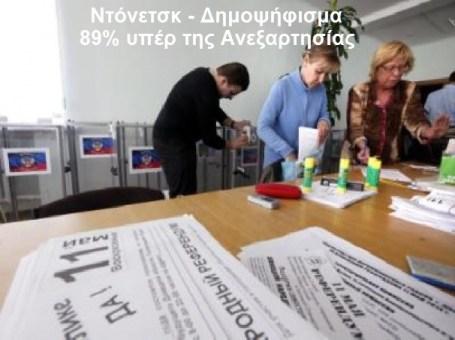 ΝΤΟΝΕΤΣΚ -ΔΗΜΟΨΗΦΙΣΜΑ ΑΝΕΞΑΡΤΗΣΙΑΣ