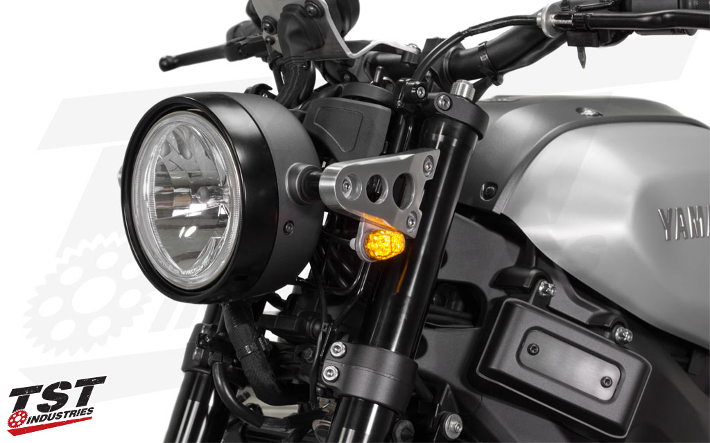 LED Front Flushmount Turn Signals Yamaha TST Industries