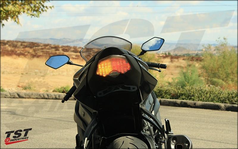 TST LED Integrated Taillight Kawasaki ZX6R ZX10R