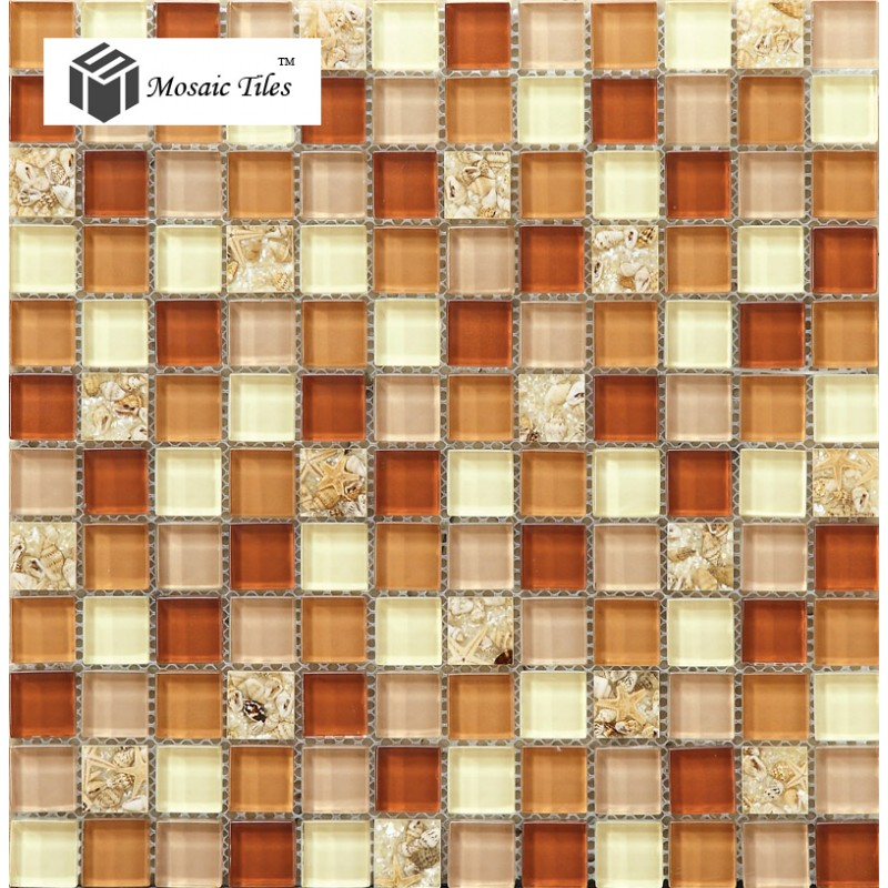 glass conch tiles crystal glass mosaic shell kitchen backsplash mosaic backsplashes pictures ideas tips hgtv hgtv