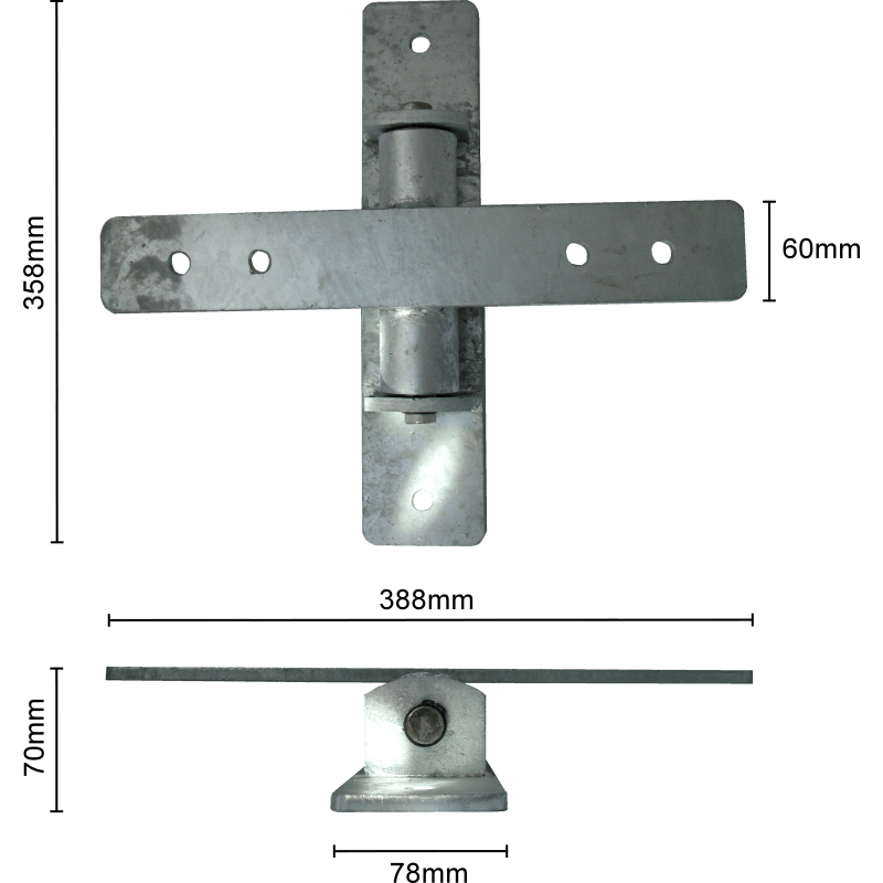 Kinder Wippe Commercial Seesaw Hinge Bearing Bracket (cross), Tst Toys