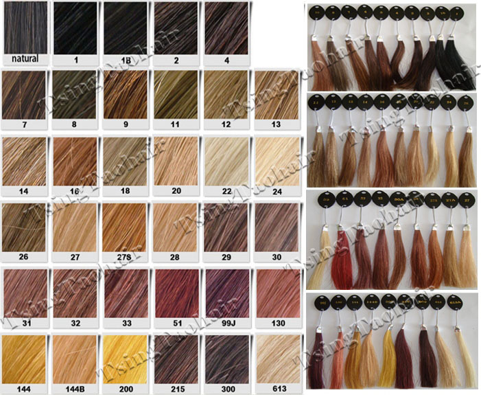 Lace WigsHair Color Chart - hair color chart