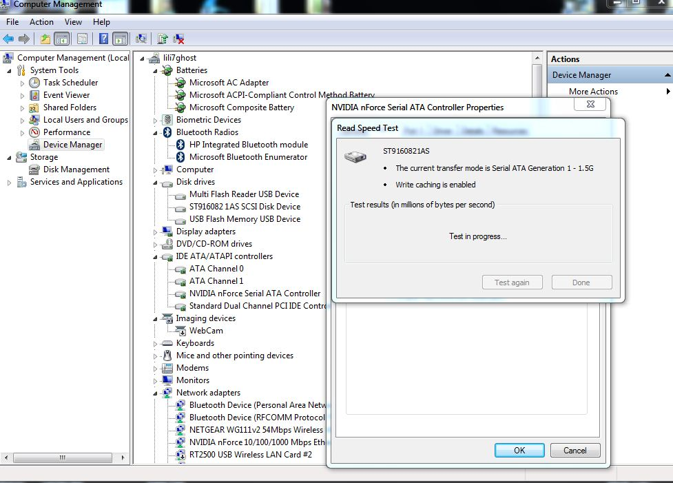 Test Your Hard Drive Speed With Windows 7's Device Manager (1/6)