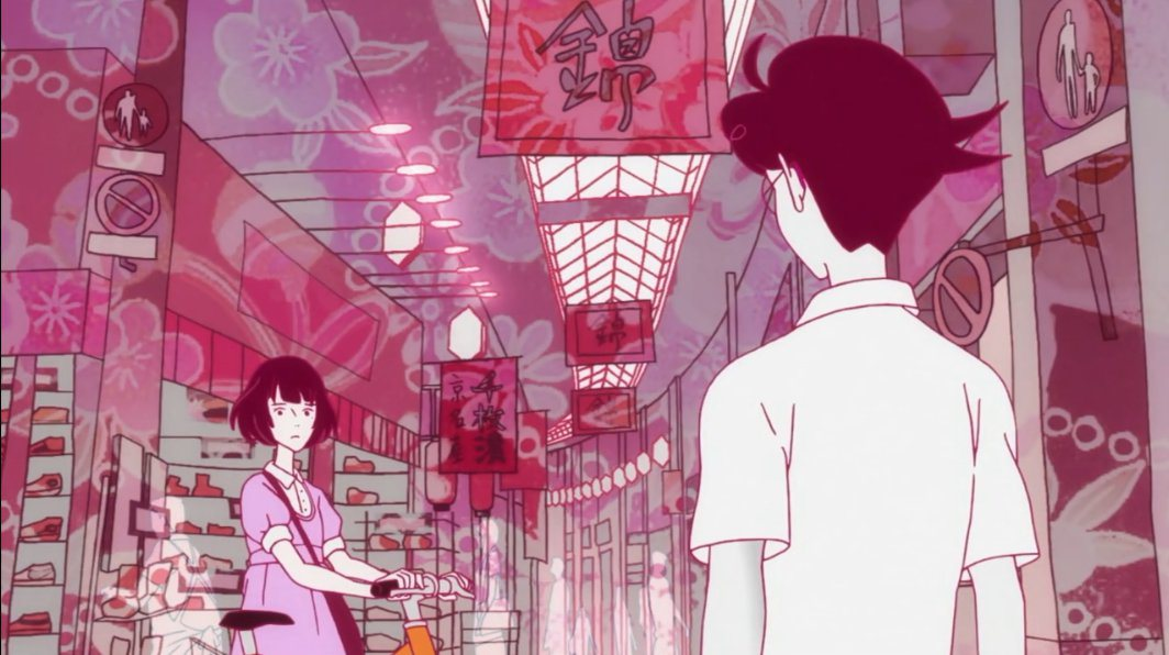 Om Animation Wallpaper The Tatami Galaxy Masaaki Yuasa Madhouse 2010