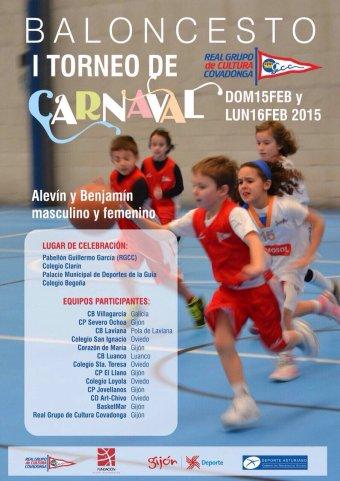 Cartel I Torneo Carnaval RGCC