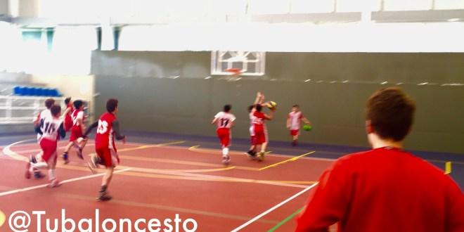 Entrenamiento minibasket RGCC Tubaloncesto