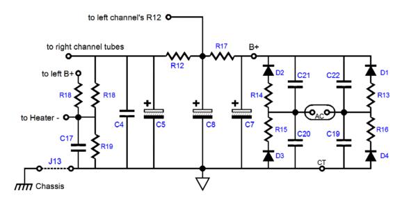 dc 12 volt 3055 audio amplifier circuit