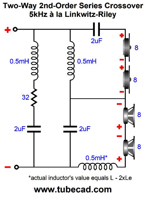 tweeter crossover circuit
