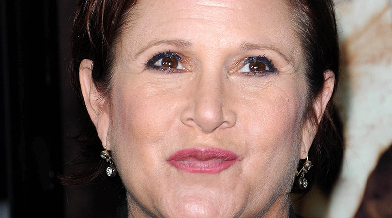 Carrie Fisher of Princess Leia Fame