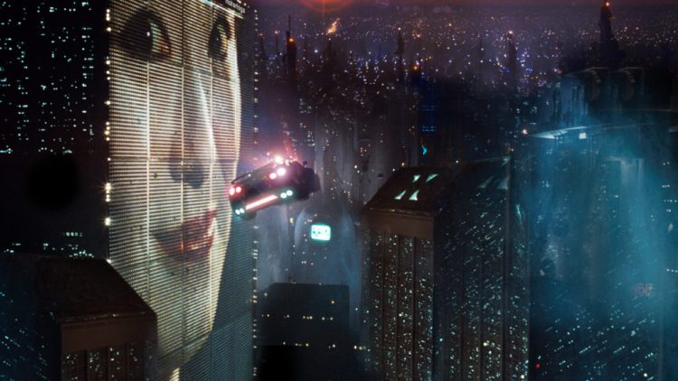 Dystopian film Blade Runner