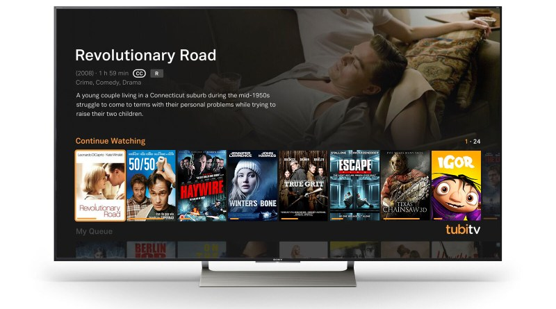 Sony Tubi TV Smart TV
