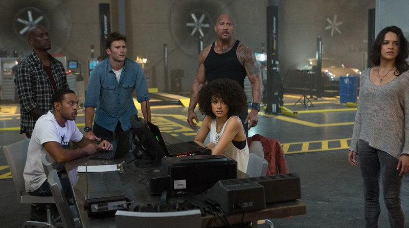 Dwayne Johnson, Michelle Rodriguez, Scott Eastwood, The Fate of the Furious