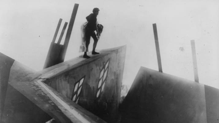 """""""The Most Beautiful Shots In Movie History"""" on Tubi TV: The Cabinet of Dr. Caligari"""