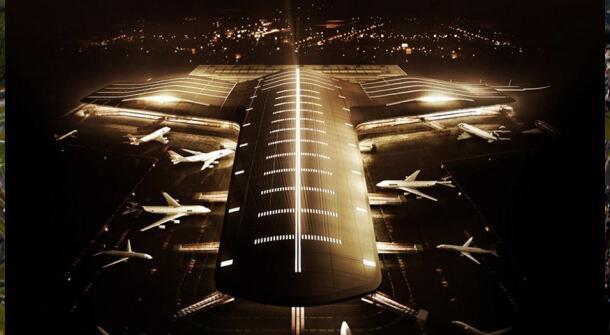 Aeroportos com Sistema ranhurado