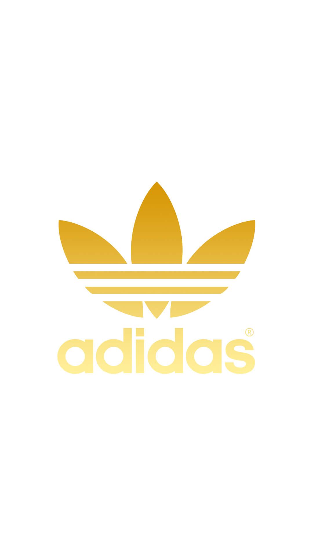 Wallpaper Para Iphone ゴールド アディダスロゴ Adidas Logo Iphone壁紙 ただひたすらiphoneの壁紙が集まるサイト