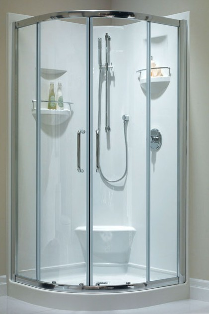 Integrated Sink Sacha Neptune Neo-round Corner Shower