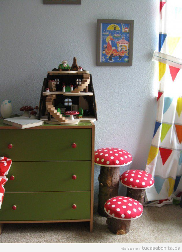 Decorar Pared Dormitorio 10 Manualidades Para Decorar Dormitorios Infantiles - Tu