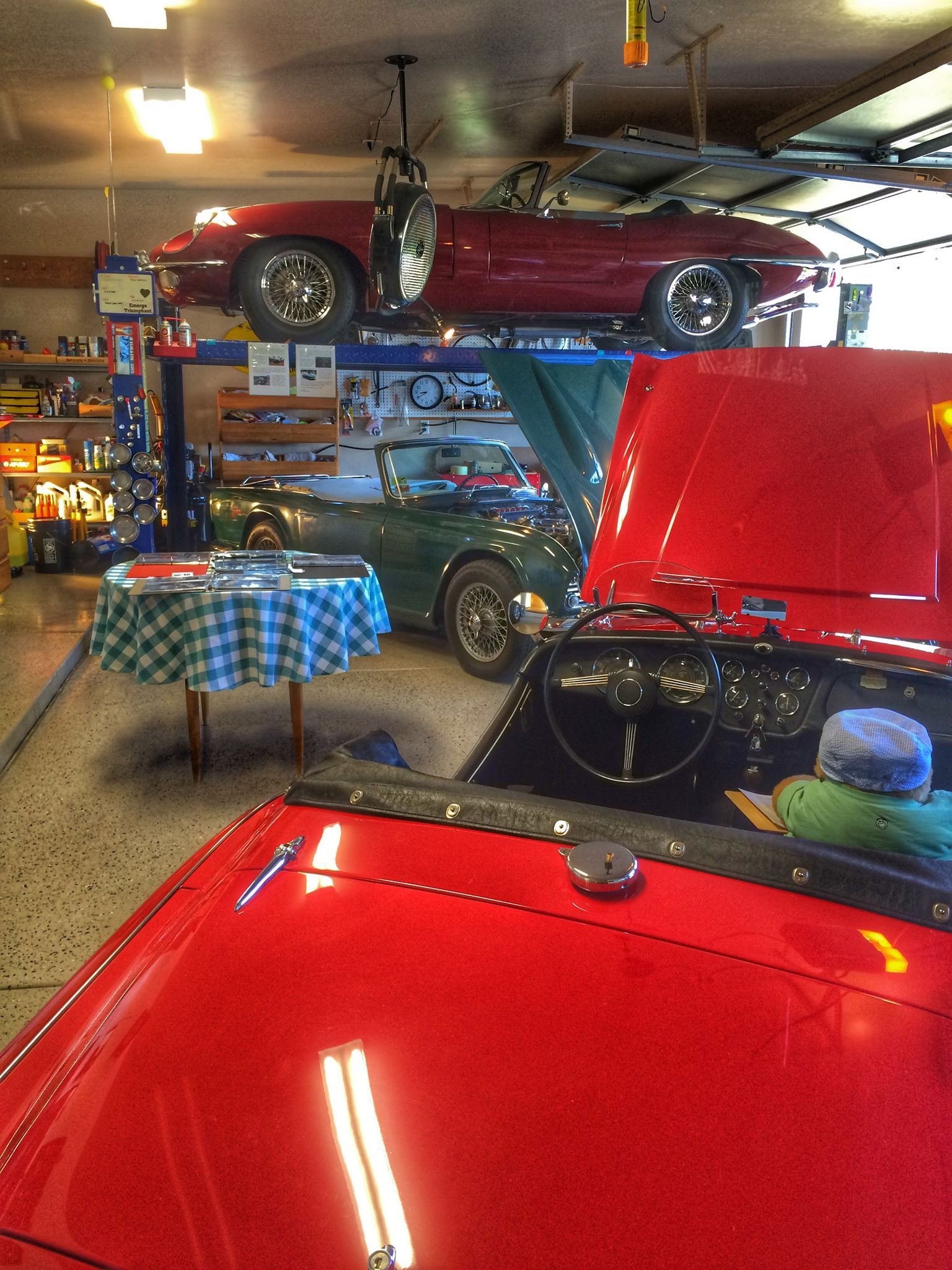 Garage Automobile Tours Le Tour Des Garage 2016 Tucson British Car Register