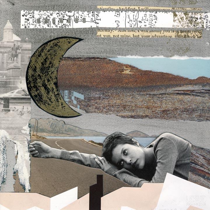 Collage by Leslie Fandrich, Sleep, Insomnia